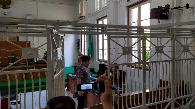 Sidang lanjutan kasus dugaan suap Nurdin Abdullah di PN Tipikor Makassar, Kamis (10/6/2021).