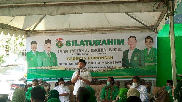 Pemilu 2024, Imam Fauzan Minta PPP Makassar Solid Rebut Kursi Pimpinan DPRD