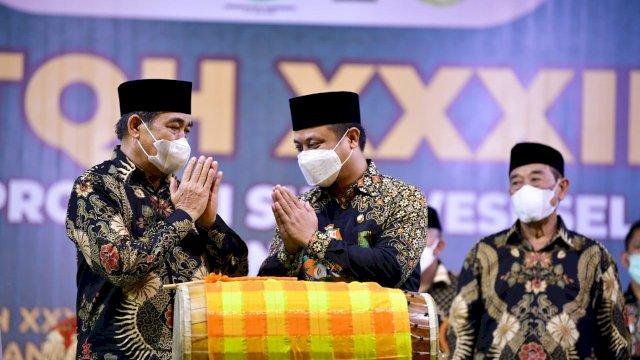 Tutup STQH XXXII, Plt Gubernur Sulsel : Penghafal Al-Qur'an Kebanggaan Orang Tua dan Modal Dunia Akhirat