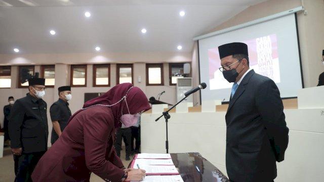 61 Pejabat Pemkot Makassar Dilantik, Danny: Dia Harus Didudukkan Dulu Disitu Baru Diganti