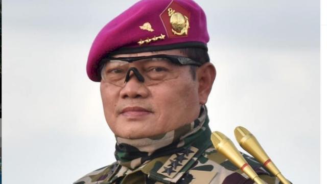 Kepala Staf Angkatan Laut (KSAL) Laksamana TNI Yudo Margono.