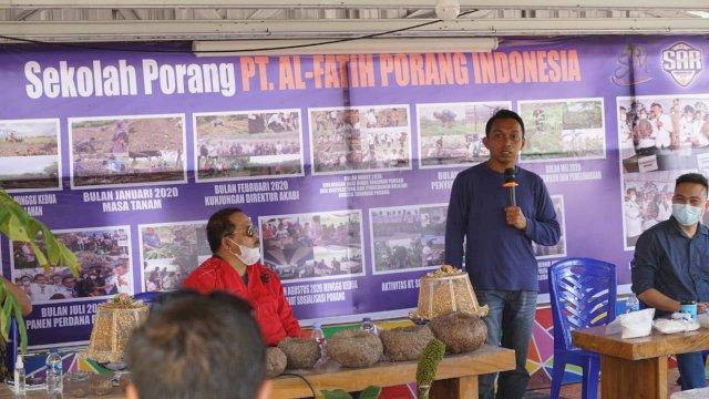 Anggota DPRD hingga Pejabat Pemprov Sulut Datang Belajar Budidaya Porang di Kebun Syaharuddin Alrif