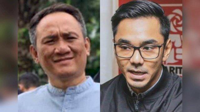 Andi Arief dan Dedek Prayudi