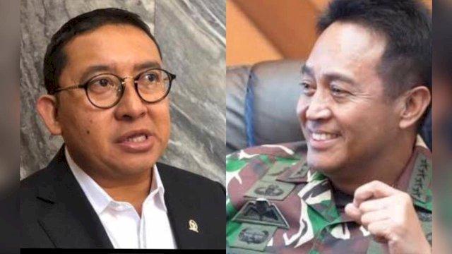 Fadli Zon-KSAD Jenderal Andika Perkasa