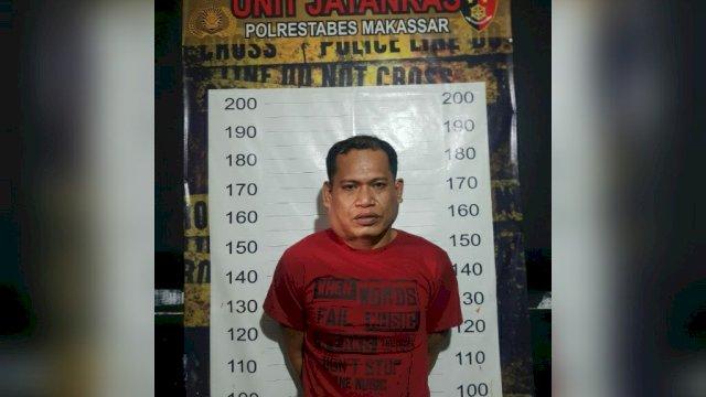 Junaedi kembali tertangkap oleh Unit Kejahatan dan Kekerasan (Jatanras) Polrestabes Makassar.