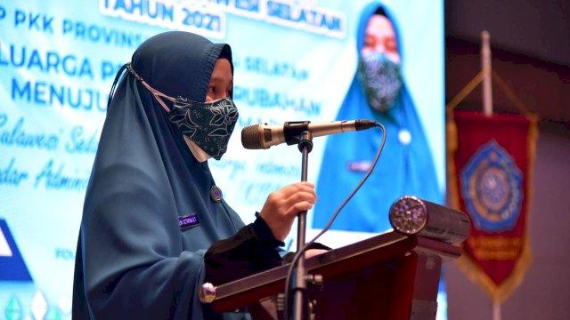Pelaksana Tugas Ketua Tim Penggerak PKK Sulsel, Naoemi Octarina.