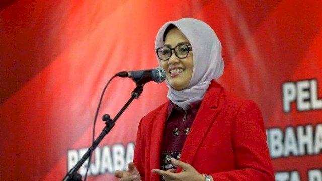 Rektor Unhas Prof Dwia Aries Tina Palabuhu.