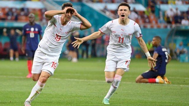 Swiss mengandaskan juara Piala Dunia 2018, Prancis, di babak 16 besar Euro 2020.