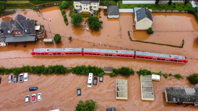 Banjir Bandang Tewaskan 92 Orang di Jerman dan Belgia
