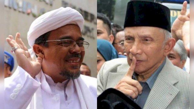 Tinggalkan Rizieq Shihab, Amien Rais Ungkap Skenario Penembakan Laskar FPI di KM 50, Sebut TNI-Polri Tak Terlibat