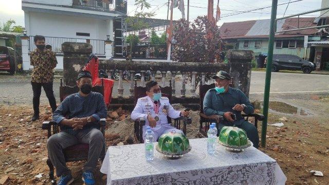 Walikota Palopo Letakan Batu Pertama Pembangunan Masjid Nurul Akbar