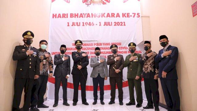 HUT Bhayangkara, Ilham Azikin: Polri Berperan Penting Putus Sebaran Covid-19