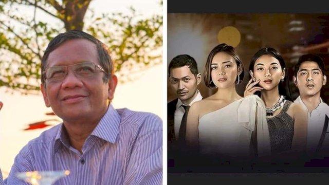 Rakyat Lagi Susah, Mahfud MD Malah Asyik Nonton Sinetron Ikatan Cinta, HMI: Sebaiknya Bapak Mundur Saja!