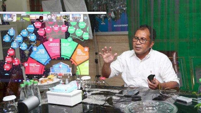 Bersama IDI, Wali Kota Danny Bahas Makassar Recover dan Isolasi Terapung
