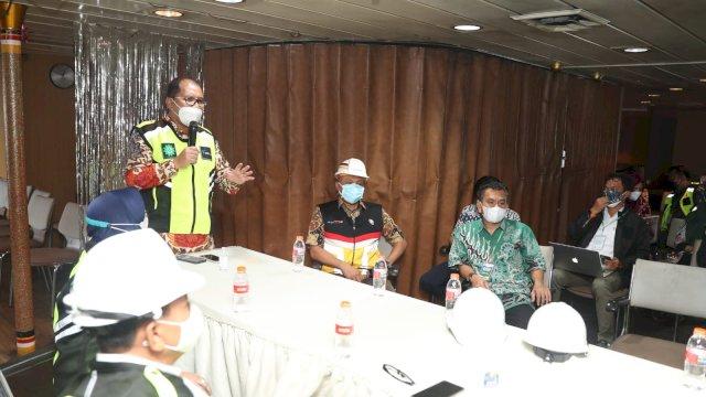 Danny Bentuk Tim Motivator Bagi Pasien Covid Isolasi Apung