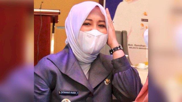 Wakil Wali Kota Makassar Fatmawati Rusdi.