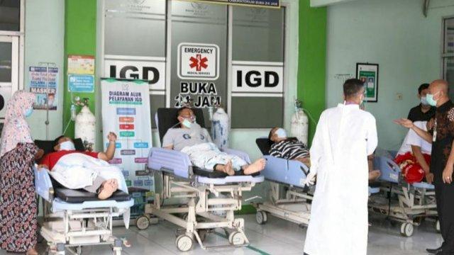 IGD RSUD Soetomo Surabaya Dipenuhi Pasien Covid-19