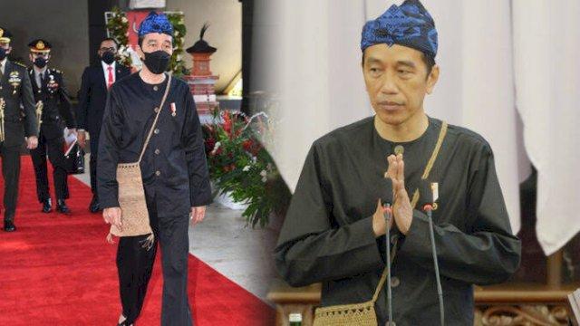 Pakaian Adat Suku Badui yang Dipakai Jokowi, Harganya hanya Ratusan Ribu, Tapi Penuh Makna