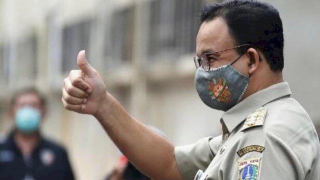 Di Jakarta Kasus Aktif Covid-19 Turun Drastis, Gubernur Anies: Alhamdulillah Atas Izin Allah
