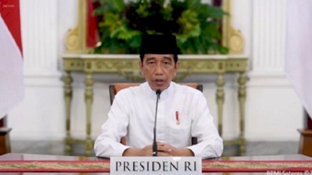 Jokowi: Tahun Baru Islam Momentum Lawan Covid-19