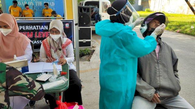 9 Hari Swab On The Road, Pemkot Makassar Periksa 2.089 Orang, 55 Positif Covid-19