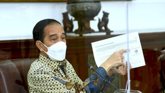 Diperpanjang ke 30 Agustus, Jokowi Turunkan PPKM di Sejumlah Wilayah Jawa-Bali Jadi Level 3, Jakarta Termasuk