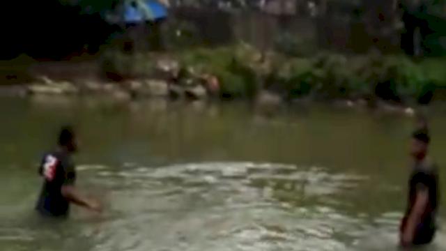 Tak Tahu Berenang, Pelajar Barru Tewas Tenggelam di Sungai Bawah Jembatan Kereta Api