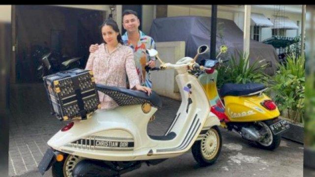 Nagita Slavina Ngidam, Raffi Ahmad Belikan Vespa Christian Dior Seharga Rp 1 Milliar