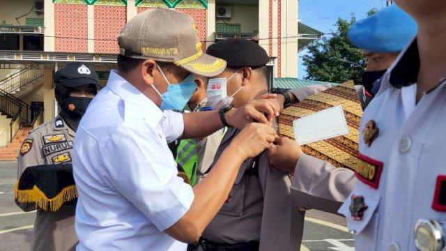 Gelar Pasukan Operasi Ketupat 2021 di Takalar, Bupati Syamsari Bacakan Amanat Serentak Kapolri