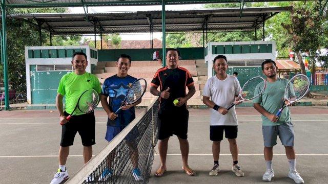 Olah Raga Tenis, Bupati Vs Dandim Bantaeng
