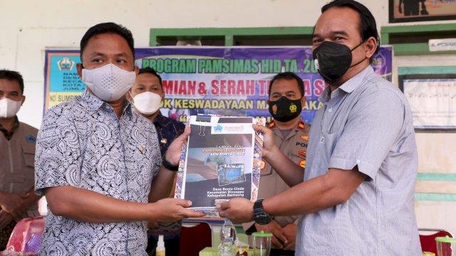 Bupati Bantaeng Dorong Layanan Air Bersih Bagi Masyarakat
