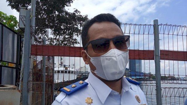 Kepala Dinas Perhubungan Kota Makassar Iman Hud.