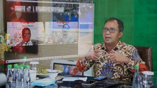 Jadi Narasumber, Wali Kota Danny Paparkan Strategi Isolasi Apung ke Dirjen Hubla