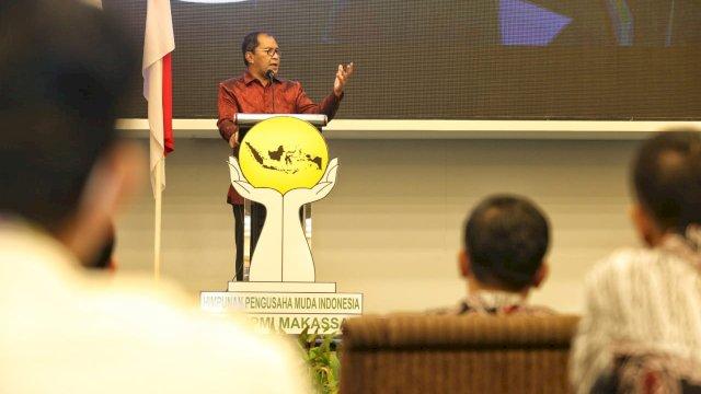 Wali Kota Danny Ajak HIPMI Wujudkan Makassar Kota Dunia