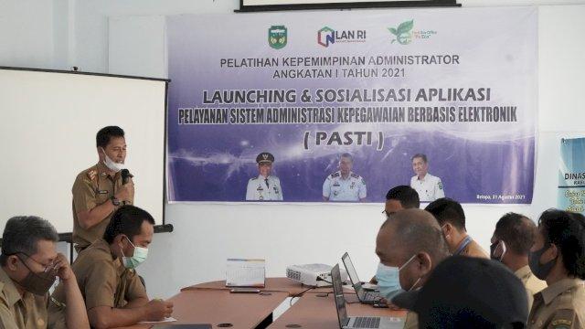 Pemkab Luwu LaunchingAplikasiPASTI