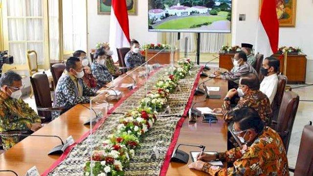 Bertemu di Istana, Bamsoet Bahas Amandemen UUD NRI, Jokowi Tanya soal 3 Periode Presiden