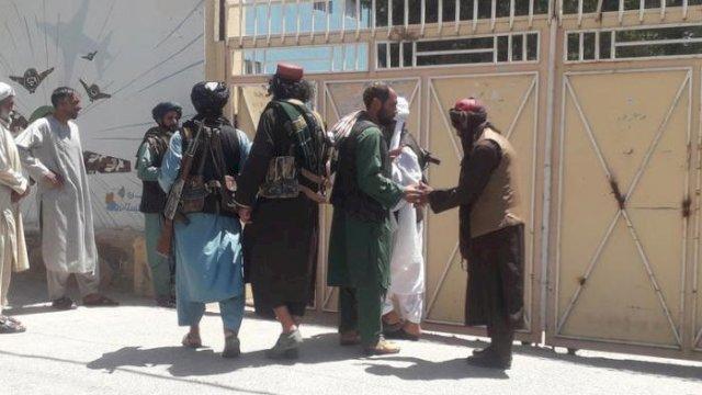 Begini Taliban dengan Mudah Kuasai Istana Kepresidenan Afghanistan