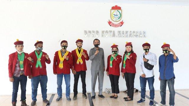 Ketua DPRD Makassar Terima Kunjungan PMKRI