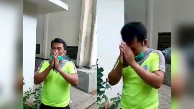 Satpam Tertangkap Basah Lagi Intip Istri Orang di Toilet, Suami Korban Langsung Viralkan