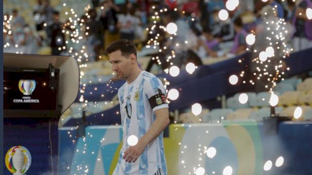 Cetak 3 Gol, Messi Lampaui Rekor Gol Legenda Brasil Pele
