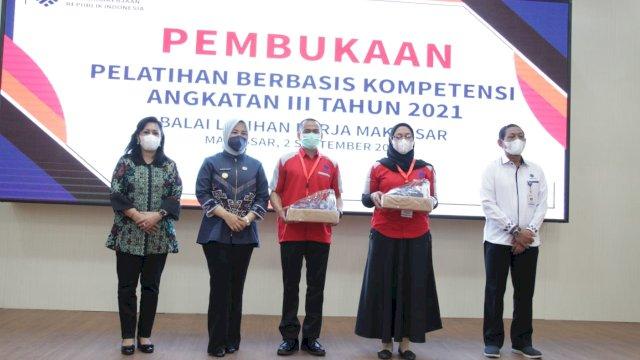 Wawali Fatmawati Apresiasi Pelatihan BLK Makassar, Katanya Selaras dengan Program Pemkot