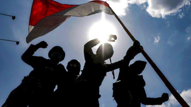 Bupati Bersama Wabup Bantaeng Saksikan Detik Proklamasi Kemerdekaan RI ke-76