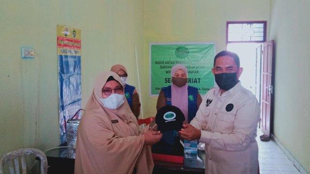 Wabup Achmad Pantau Vaksin Anggota dan Keluarga RAPI Takalar