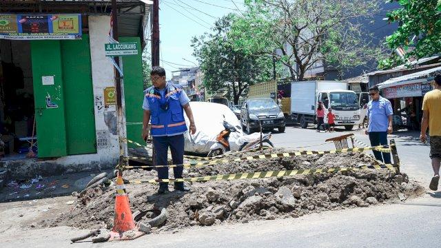 Perumda Air Minum Makassar Lakukan Pembenahan Jaringan Pipa di Titik-titik Ini, Tampung Air karena Suplai Berkurang