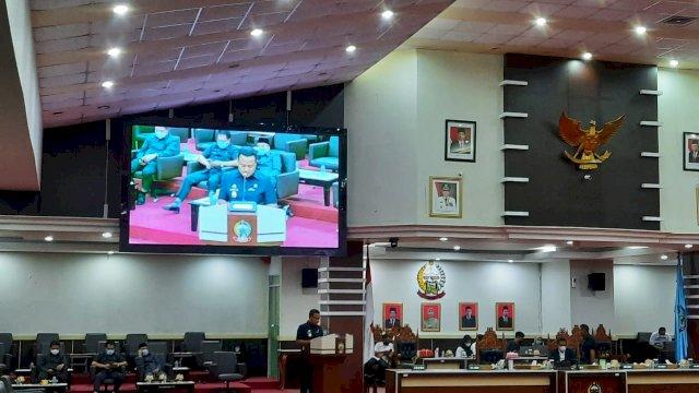 DPRD Sulsel Kritik Pengajuan Ranperda Perubahan APBD 2021