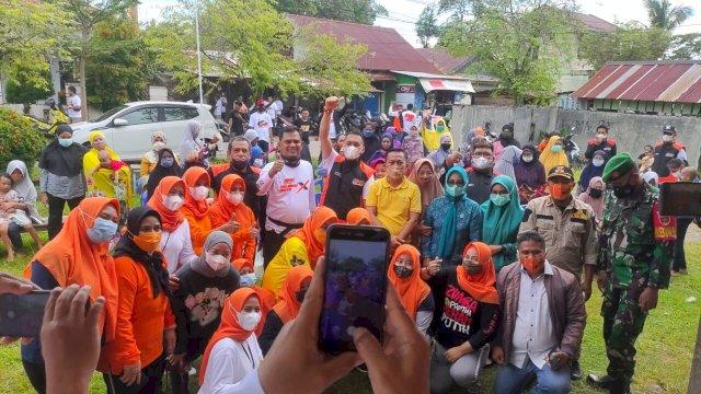 Touring Kemanusiaan RMS Community-FKJ Brother di Palopo, Bagi-bagi Sembako di 4 Kecamatan