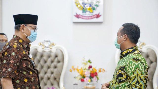 Terima Kunjungan BPKP-BPK, Plt Gubernur Sulsel Harap Bimbingan Akuntabilitas Keuangan