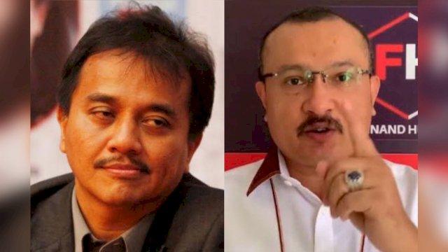 Eks Menteri Kok Kualitas Logiknya Sebobrok Ini? Ferdinand Hutahaean Semprot Surat Terbuka Roy Suryo untuk Jokowi