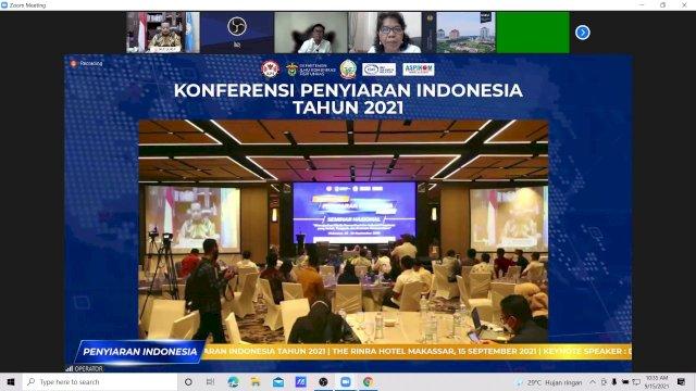 Dihadiri Menparekraf, Plt Gubernur Sulsel Buka Konferensi Penyiaran Indonesia 2021