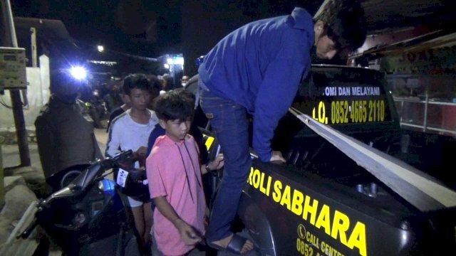 Mengejek-ejek Polisi, Akhirnya Suara Tembakan Warnai Penangkapan 6 Pelaku Tawuran di Makassar
